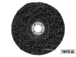 Круг зачисний нейлоновий до КШМ YATO Ø125 мм 12500 об/хв М14
