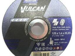 Круги отрезные Norton Vulcan 125х1. 6х22. 2
