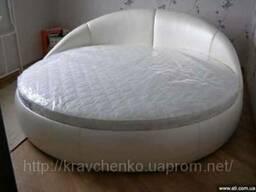 Круглая кровать Луна. Кровать круглая. Изготовление круглых