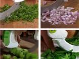 Круглый нож Bolo, кухонный нож - фото 3