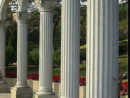 Сборные колонны из гранита
