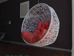 Круглые плетеные кресла  Смайл для дома, сада, дачи
