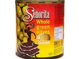 Крупные оливки с косточкой Senorita, 3кг, Испания
