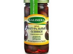 Крупные оливки в морской соли Kalimera / Калимера, 370мл