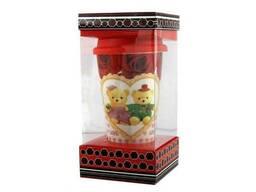 Кружка с силиконовой крышкой в подарочной упаковке Love Bears SKL11-203609