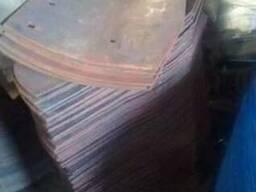 Крыло отвала (под грудинку) сталь 65г