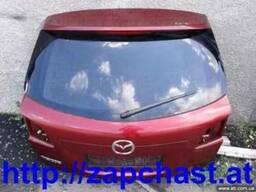 Крышка багажника б/у Mazda (Мазда) 2, 3, 6, CX-7, СХ-9
