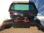 Крышка багажника Бампер задний Фонари VW Golf 7 VII 13-15 - фото 1