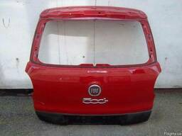 Крышка багажника фонари задние бампер задний Fiat 500L 12-14