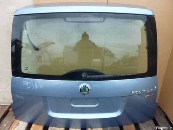Крышка багажника комплектная Roomster 06-14