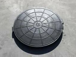 Люки резинокордовые (корпус и крышка) для смотровых колодцев