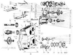 Валик включения ВОМ 150.37.205-1 к тракторам Т-150, ХТЗ