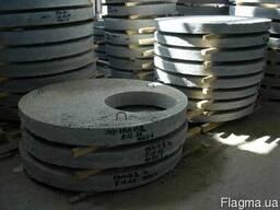 Крышка колодца(плита перекрытия) ж/б ПП 20-1 2200х150х700мм