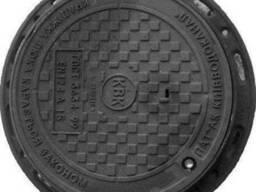 """Люк чавунний каналізаційний легкий типу """"Л"""", А15"""