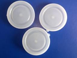 Крышка пластиковая для стеклобанок, белая и цветная