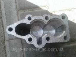 Крышка Р-80 нижняя алюминиевая (2 секции) Р5-2-0273.