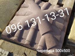 Крышка столба, шапка столба, колпак бетонный