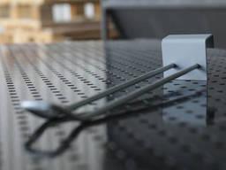 Крючки для экономпанелей  двойной 190 мм