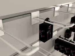 Крючки для экономпанелей  двойной 200 мм