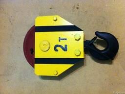 Крюковая подвеска тельфера 0,5 - 10 тн. - photo 5