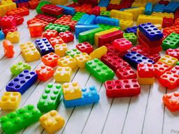 Кубики великий конструктор Мега Куб, большие кубики детские