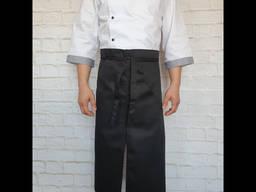 Кухарський чорний фартух