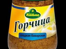 """Kuhne горчица сладкая """"Баварская"""" - 250 мл."""