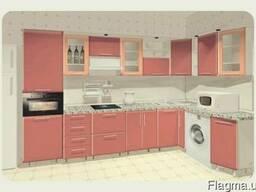 Кухни. Кухонная мебель. Кухонные гарнитуры. Кухня со стойкой