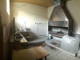 Кухня с мангалом