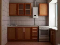 Кухня в хрущевке мебель (ремонт)