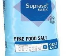 Кухонна дрібна сіль Suprasel Classic fine salt (Данія), паковання 25 кг
