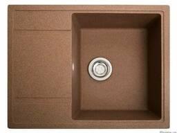 Кухонная мойка Оптима терракот из камня