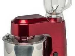 Кухонный комбайн (красный, нержавеющая сталь)