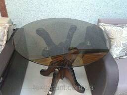 Кухонный стол стеклянный Лотос