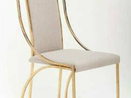Кухонный стул для стиля лофт в золотом цвете