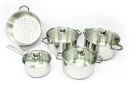 Кухонные кастрюли для индукционной плиты Giakoma