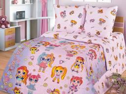 Куклы L. O. L. Sweet - качественное постельное для девочек. Поплин 100 хлоп