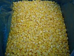 Кукуруза зерно сладкая бланшированная замороженная