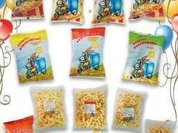 Кукурузные палочки ,попкорн