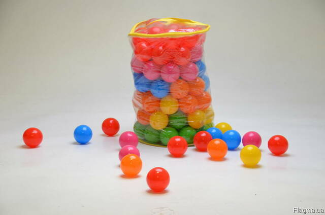 Шарики, кульки для сухого басейну 100 шт