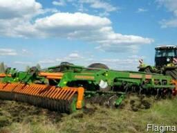 Культивация, дискование, вспашка, обработка почвы