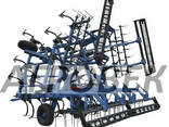 Культиватор 4 -12 метров КГШ - фото 1
