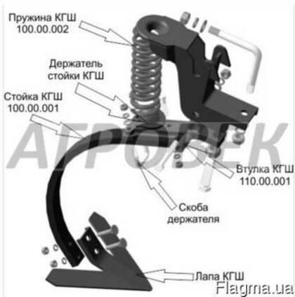 Культиватор 8 метров КГШ