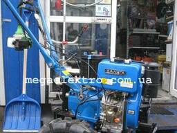 Культиватор дизельный 9 л.с. электростартер