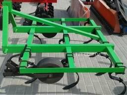 Культиватор пружинный сплошной обработки 1, 5 м навесной (Пол