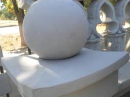 Куля бетонна Д-200