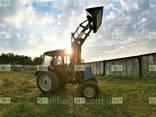 Кун на трактор МТЗ Dellif Light 1200 с ковшом 2 м - фото 4