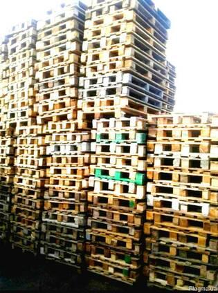Купим деревянные поддоны в любом состоянии