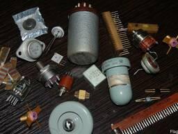 Купим радиодетали, приборы, тех-серебро, радиолампы, платы