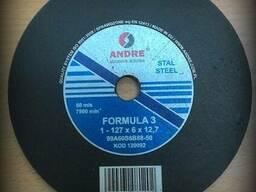 Купить абразивный круг (127х12,7х6) andre formula 3